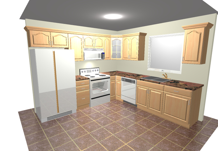 10x10 kitchen designs foundation dezin decor 3d kitchen model design  10 x 10 u shaped      rh   jugheadsbasement com
